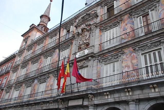Madrid, Spain, Plaza Mayor