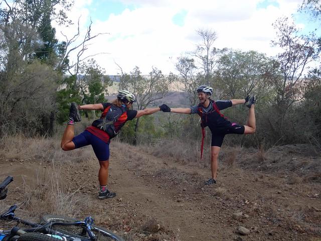 Yoga in the Bush