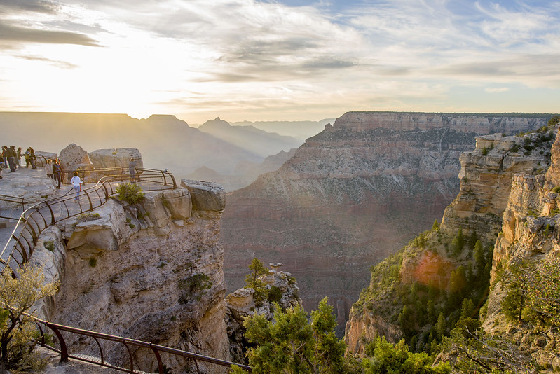 Grand Canyon sunrise - Mather Point