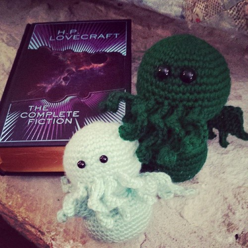 Two #Cthulhu are better than one! #crochet
