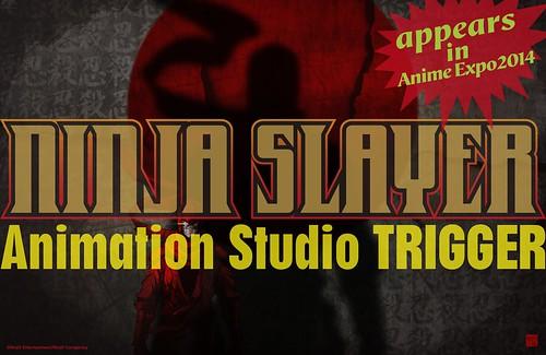 140411(1) - 美日合作之科幻血腥動作小說《NINJA SLAYER 忍者殺手》將由「TRIGGER」改編動畫版!