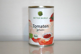02 - Zutat Tomaten in Stücken / Ingredient tomatoes in pieces