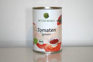 02 - Zutat Tomaten in Stücken / Ingredient tomatoes in pieces