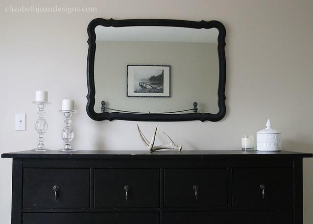 Black White Dresser Accessories
