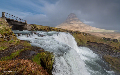 vesturland island is kirkjufellsfoss waterfall volcano