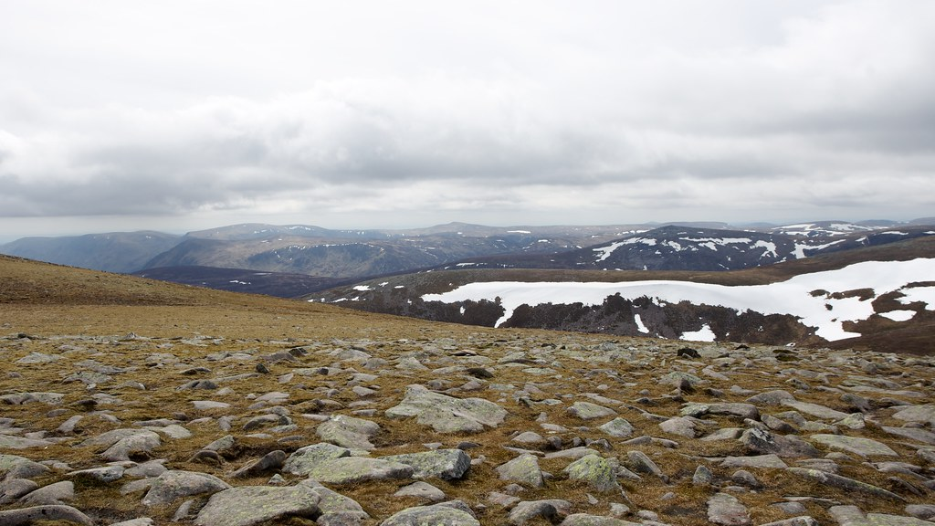 White Mounth from Lochnagar