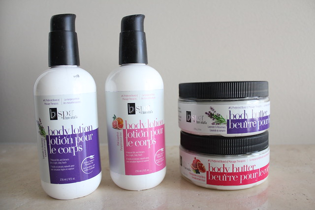 BVspa by Bon Vital Body Butters and Body Lotions review