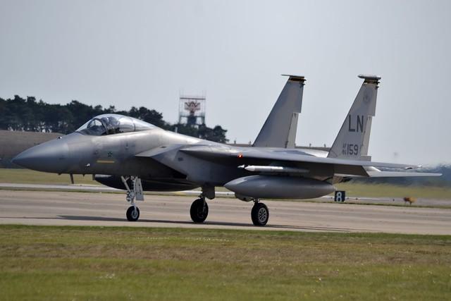 United States Air Force McDonnell Douglas F-15C Eagle 86-0159 at RAF Lakenheath 5/5/16