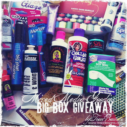 mixed media giveaway by traci bautista1