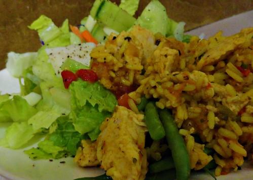 nutrisystem dinner arroz con pollo
