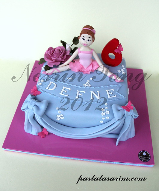 BALERINA CAKE - DEFNE BIRTHDAY