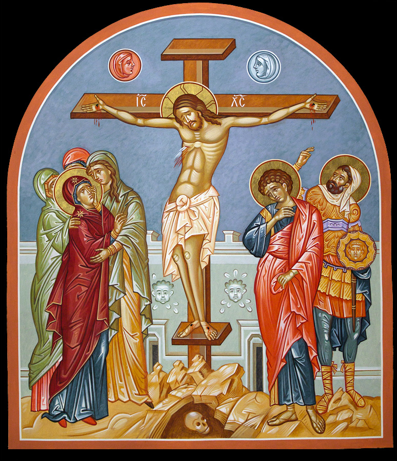 crusifixion icon