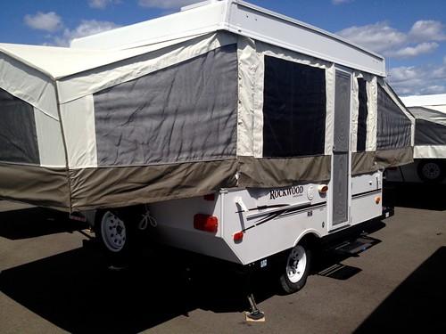 Tent Trailer!