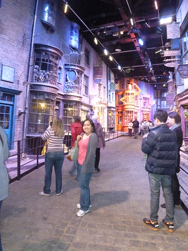 Diagon Alley by rachlyf