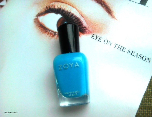 Zoya nail polish in Yummy