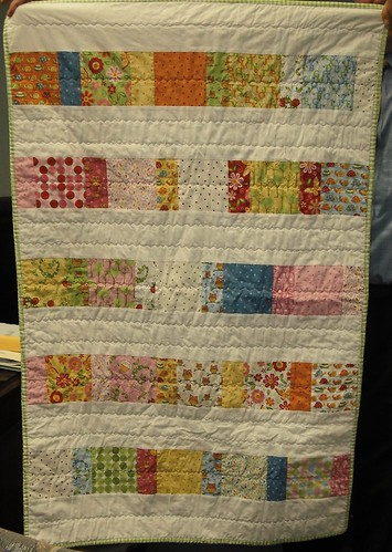baby quilt for dr. haase