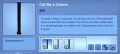 Call Me a Column