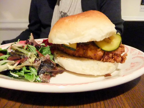 Fried Chicken Sandwich, Bobwhite