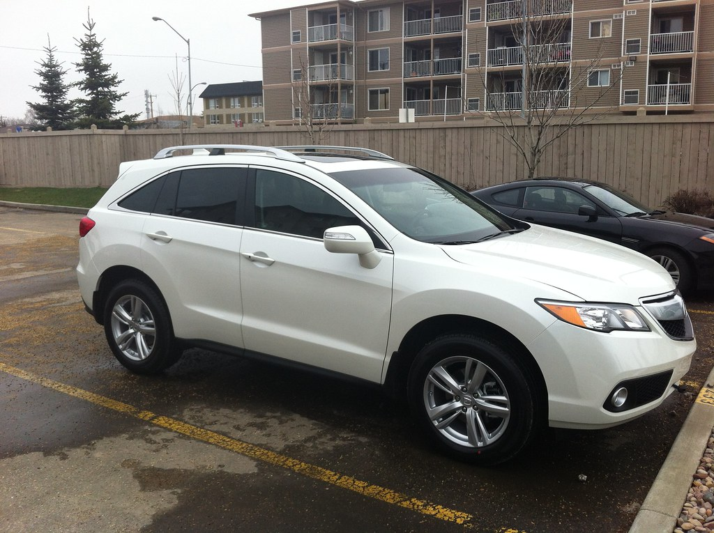 Just arrived - 2013 RDX AWD with Tech & roof rack, White - AcuraZine - Acura Enthusiast Community