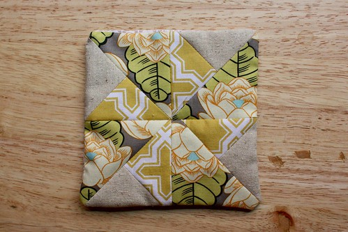 Miniature Double Pinwheel Quilt Block