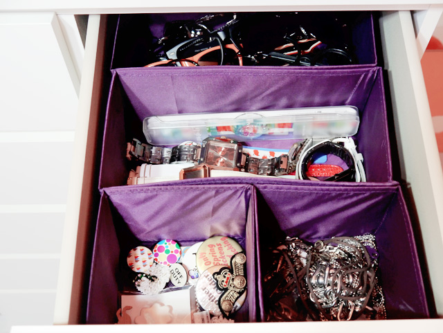 typicalben room cupboard drawer shades watches pins badges necklace