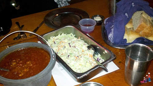 Family Style Sides at the Mining Camp Restaurant, Apache Junction, Arizona