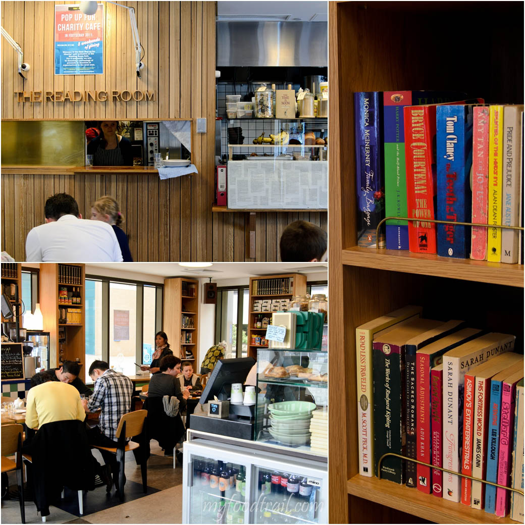 The Reading Room Cafe - Inside