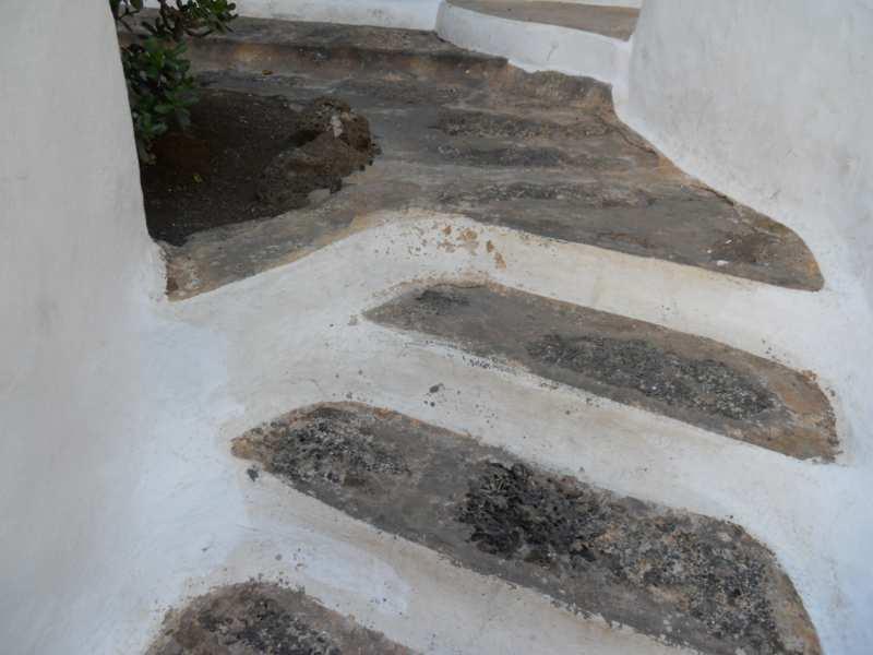 Escalera en jardines Omar Sharif Lanzarote 8