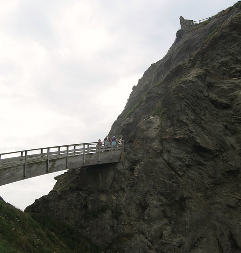 Bridge at Tintagel Castle
