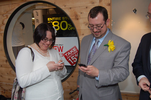 March 31: The txt'ing newlyweds