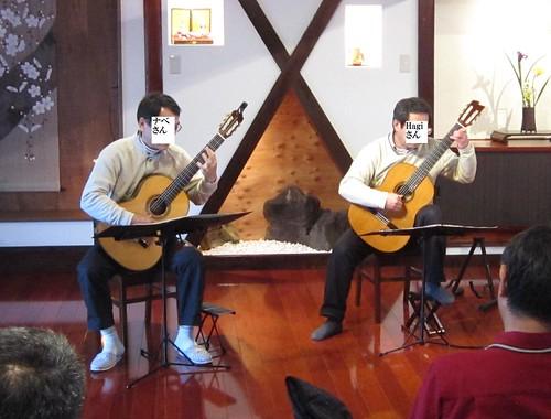 Hagiさん・ナベさん二重奏 2012年3月31日 by Poran111