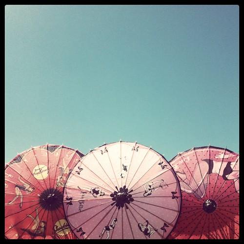 drollgirl chinese umbrellas