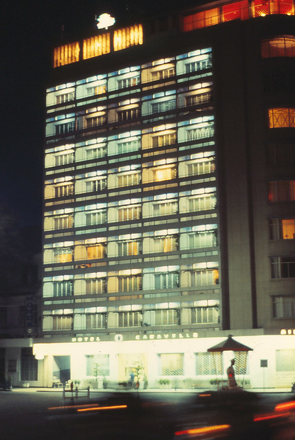 Saigon 1964 - Caravelle Hotel - VIP - good restaraunt at top
