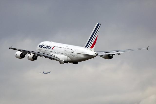 F-HPJD A380 Air France & Delta B767