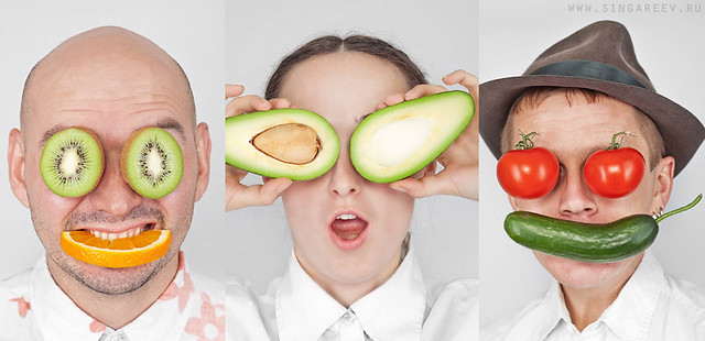 Vegetarian people