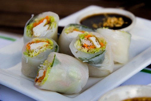 Fresh Spring Roll at Smiling Banana Leaf