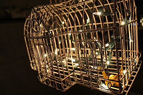 How to make a birdcage chandelier