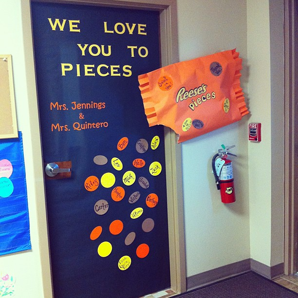 Teacher Appreciation Door :)
