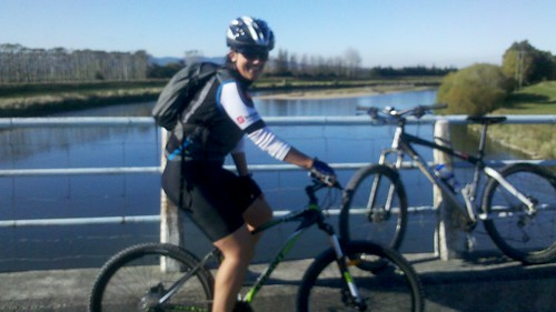 #30daysofbiking  Ride #20  with Kelly and her btand new bike. by Bazzaphotos