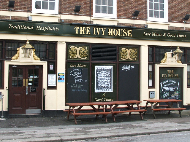 The ivy house peckham nunhead last day open sunday 22 for The ivy house
