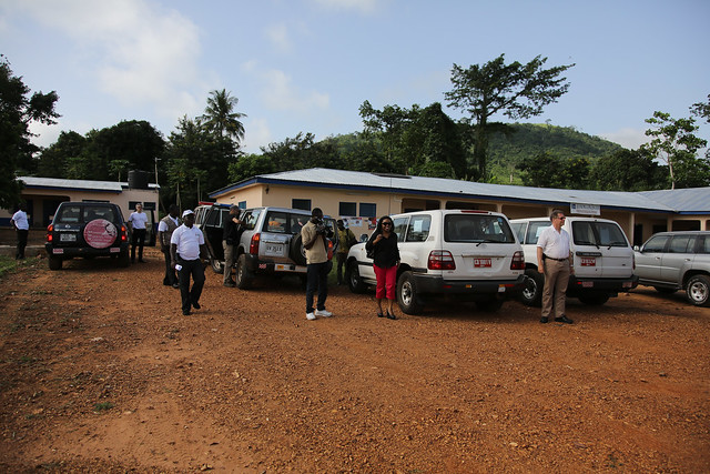 Touring the Eastern Region of Ghana with The GAVI Alliance