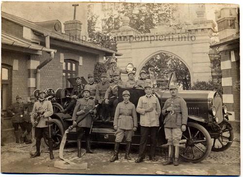 Pompieri militari Bucuresti