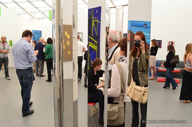 2012 Frieze New York City Art Fair mirrors