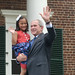 July 4, 2008 - President George W. Bush speaks at Monticello's Naturalization Ceremony