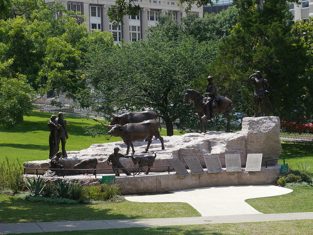 Tejano monument at Capitol
