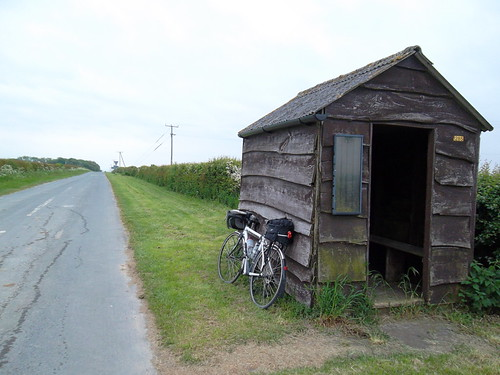 1526_Er, a wooden hut at Cowlam