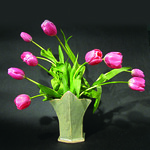 Betsy Bohanna, Tulip Vase, Stoneware - 35th Annual Spring Pottery Sale: Art of the Garden Arvada Center May 4 - 12, 2012