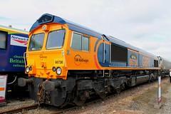 Class 66: 66736 'Wolverhampton Wanderers' GBRf  Railfest 2012 York