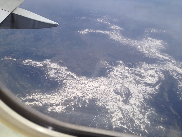 Over the American Rocky Mountains