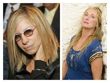 Streisand Streep